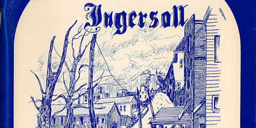 Ingersoll our heritage book cover