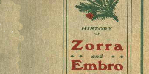 book cover of Zorra and embro