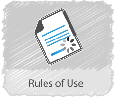 Rules Of Use Button