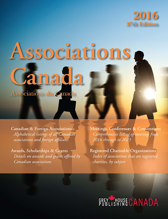 Associations Canada book cover