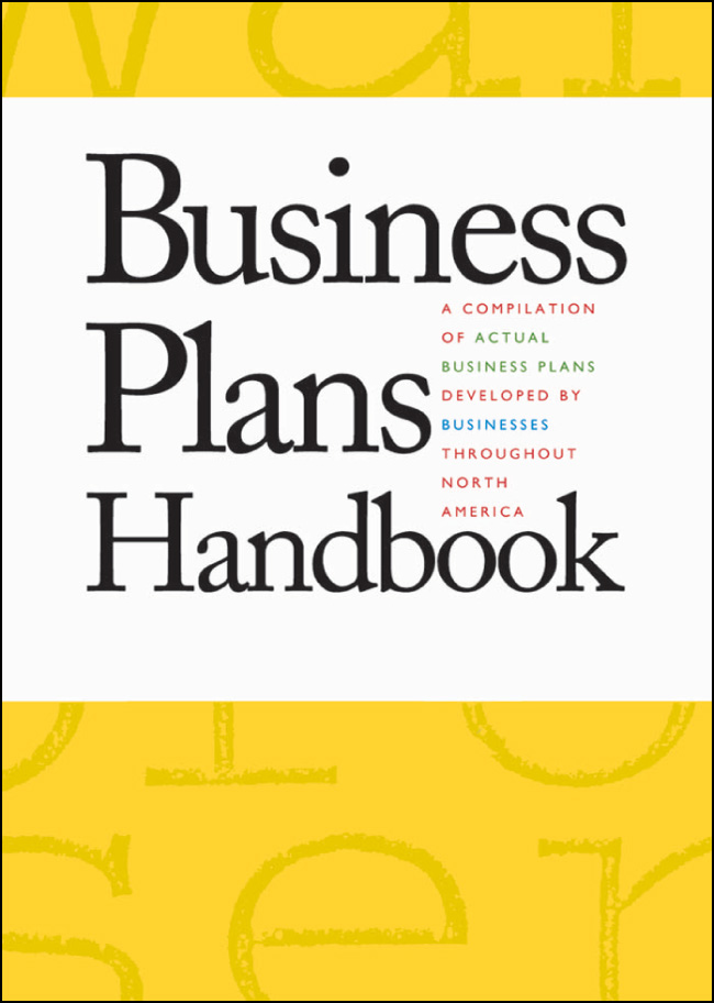 Business Plans Handbook - book cover