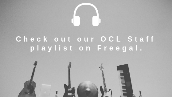 Check out our OCL staff playlist on Freegal.