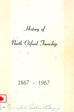 Index of North Oxford